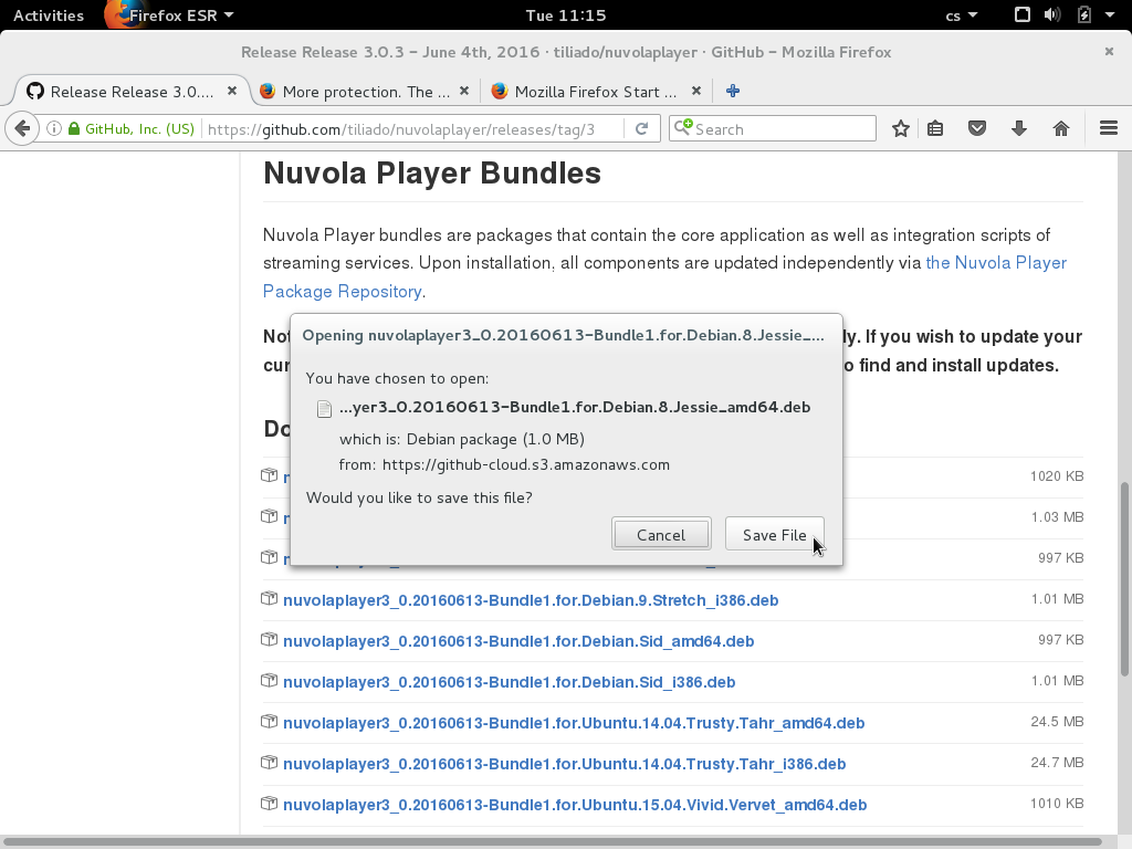 Install Nuvola Player 3 0 on Debian